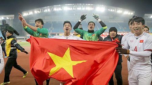 U23 Việt Nam đá chung kết: Hà Nội, TP.HCM lắp hàng chục màn hình lớn xem bóng đá - Ảnh 1