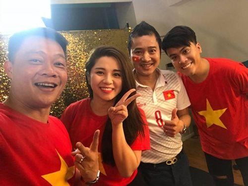 Hồng Sơn, Ngô Phương Lan cùng dàn sao Việt quay MV cổ vũ U23 Việt Nam - Ảnh 2