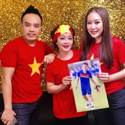Hồng Sơn, Ngô Phương Lan cùng dàn sao Việt quay MV cổ vũ U23 Việt Nam - Ảnh 3