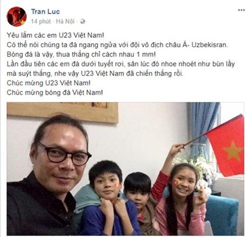 Hoài Linh, Mỹ Tâm cũng dàn sao Việt gửi lời động viên siêu đáng yêu tới U23 Việt Nam - Ảnh 5