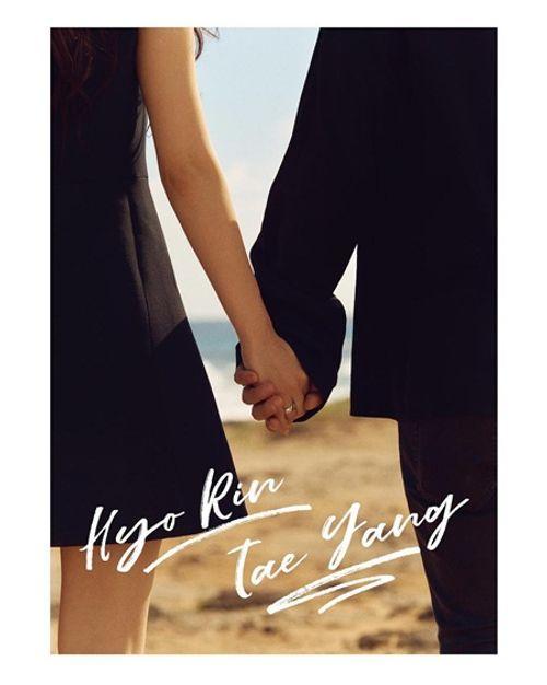 Cặp đôi Taeyang - Min Hyo Rin hé lộ ảnh cưới đẹp long lanh trước ngày trọng đại - Ảnh 2