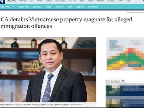 Hành khách Phan Van Anh Vu đang trên chuyến bay Singapore-Hà Nội - Ảnh 1