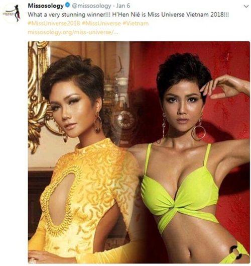 Chuyên trang sắc đẹp nổi tiếng thế giới viết về Hoa hậu H'Hen Niê - Ảnh 4