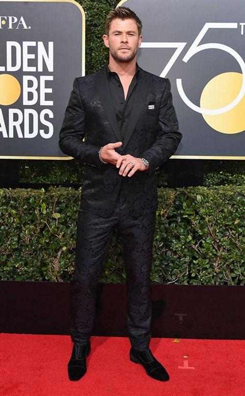 Quả Cầu Vàng 2018: Dàn sao Hollywood đồng loạt diện đồ đen trên thảm đỏ - Ảnh 15