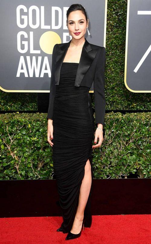Quả Cầu Vàng 2018: Dàn sao Hollywood đồng loạt diện đồ đen trên thảm đỏ - Ảnh 4