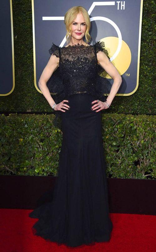 Quả Cầu Vàng 2018: Dàn sao Hollywood đồng loạt diện đồ đen trên thảm đỏ - Ảnh 8