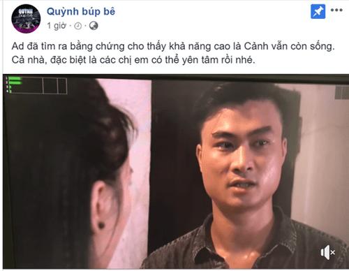 Quỳnh búp bê: Hé lộ đoạn clip cho thấy có thể Cảnh chưa chết - Ảnh 2