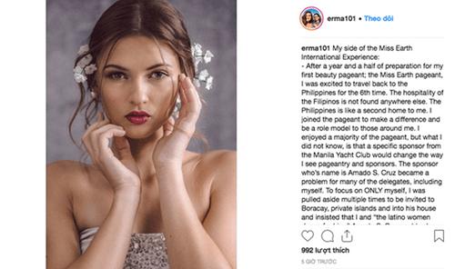 Thí sinh Hoa hậu Trái Đất 2018 liên tiếp tố bị quấy rối, gạ tình - Ảnh 3