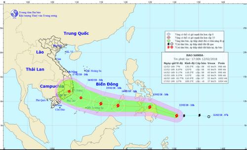 Bão giật cấp 10 hướng Biển Đông, TP Hồ Chí Minh chủ động ứng phó - Ảnh 1