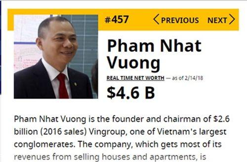 """Lộ tài sản chục ngàn tỷ, """"két tiền"""" ít người biết của đại gia Việt - Ảnh 2"""