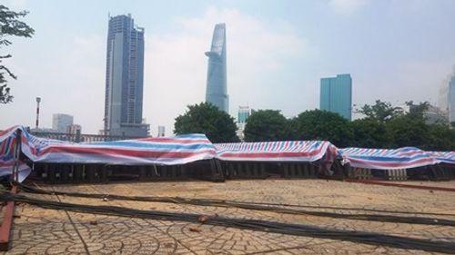 """""""Trận địa pháo hoa"""" Hà Nội và TP.HCM được bảo vệ nghiêm ngặt, sẵn sàng cho đêm giao thừa - Ảnh 4"""