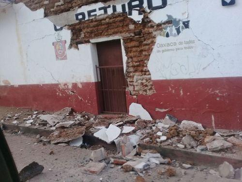 Mexico: Động đất mạnh 7,2 độ rung chuyển một vùng - Ảnh 1