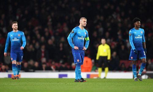 Kết quả Europa League: Arsenal thua muối mặt vẫn đi tiếp, Napoli cay đắng dừng bước - Ảnh 1