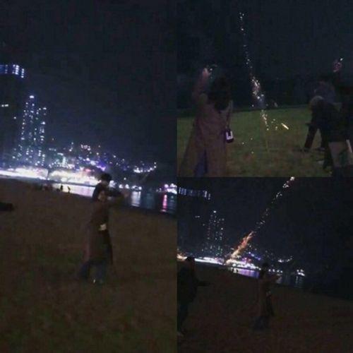Chi Pu du lịch Đài Loan ngắm pháo hoa cùng bạn trai Hàn Quốc? - Ảnh 1