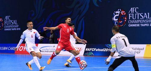 Đội tuyển futsal Việt Nam có chiến thắng đầu tiên tại VCK futsal châu Á - Ảnh 1