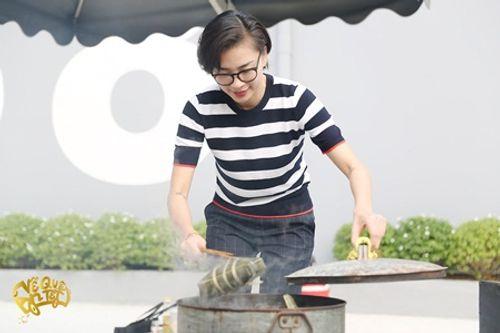 Ngô Thanh Vân - Jun Phạm tự tay gói bánh chưng đón Tết - Ảnh 4