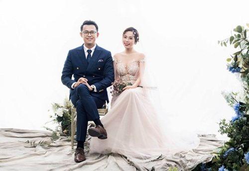 """Ngắm bộ ảnh cưới của MC """"Chúng tôi là chiến sĩ"""" trong ngày Valentine Trắng - Ảnh 4"""