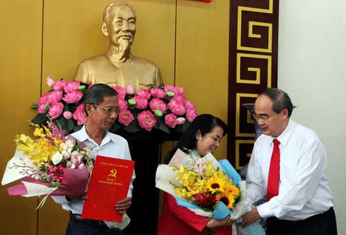 Bà Trần Kim Yến làm Bí thư quận 1 TP.HCM - Ảnh 1