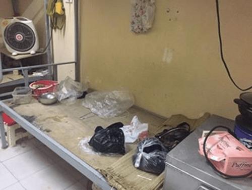 Dân mạng tranh cãi vụ cô gái ngủ với nồi cơm điện, bát đũa trên giường ký túc xá - Ảnh 2