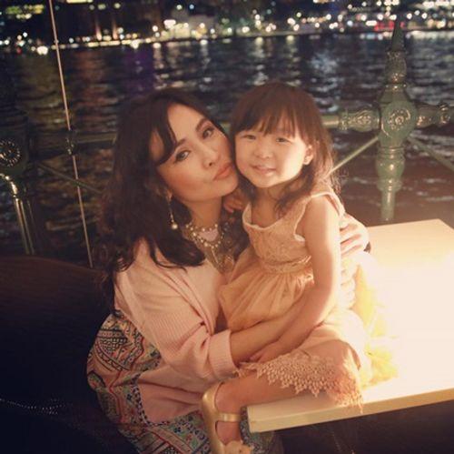 Biểu cảm đặc biệt của Diva Thanh Lam chỉ có khi ở bên cháu ngoại - Ảnh 1