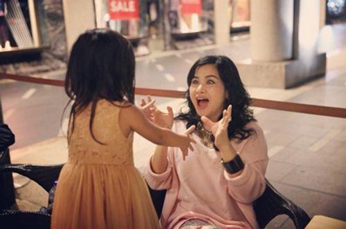 Biểu cảm đặc biệt của Diva Thanh Lam chỉ có khi ở bên cháu ngoại - Ảnh 9