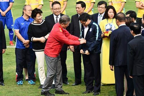Tổng thống Hàn Quốc giao lưu với U23 Việt Nam - Ảnh 2