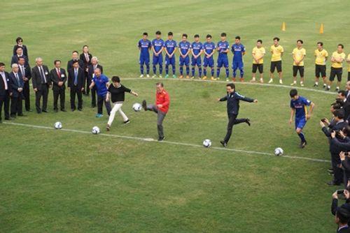 Tổng thống Hàn Quốc giao lưu với U23 Việt Nam - Ảnh 3