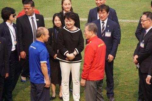 Tổng thống Hàn Quốc giao lưu với U23 Việt Nam - Ảnh 4