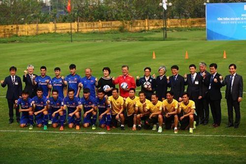 Tổng thống Hàn Quốc giao lưu với U23 Việt Nam - Ảnh 6