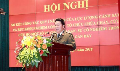 """Thứ trưởng Bùi Văn Thành: """"Yêu cầu đình chỉ hoạt động những cơ sở không bảo đảm an toàn PCCC"""" - Ảnh 1"""