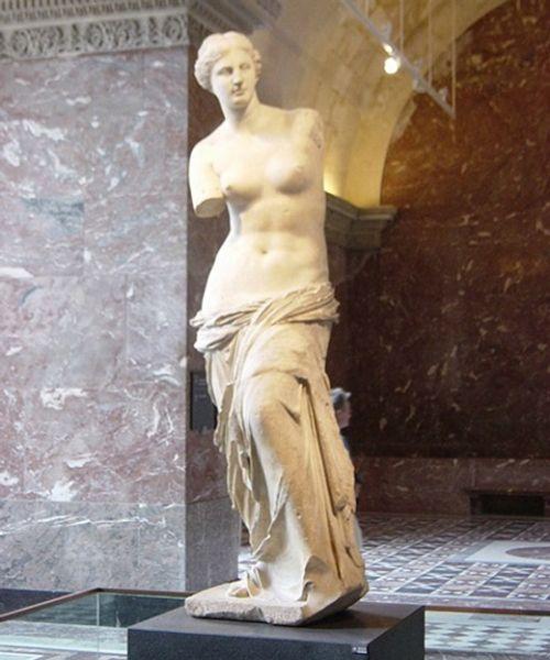 Ngắm nhìn những bức tượng khỏa thân nổi tiếng trên thế giới - Ảnh 2
