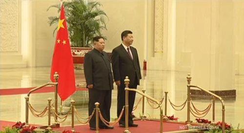 Hình ảnh hiếm hoi về chuyến thăm Trung Quốc của ông Kim Jong-un - Ảnh 4