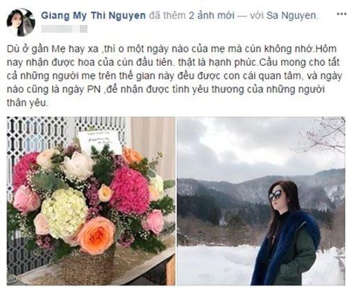 8/3 ngập tràn lời chúc đầy yêu thương của sao Việt - Ảnh 2