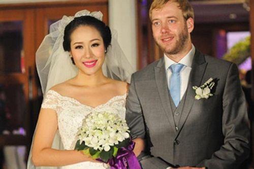 Cuộc sống viên mãn của sao Việt lấy chồng Tây - Ảnh 5