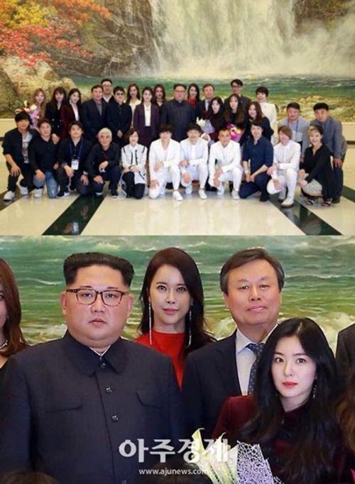 """""""Nữ thần nhan sắc"""" Kpop Irene gây chú ý khi chụp ảnh cùng ông Kim Jong-un - Ảnh 2"""