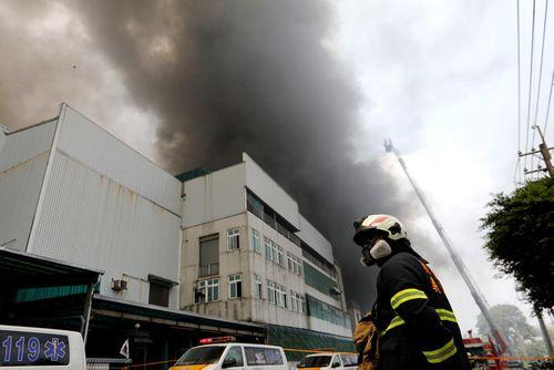 Vụ cháy nhà xưởng tại Đài Loan: Hơn 160 lao động Việt tạm nghỉ việc - Ảnh 1