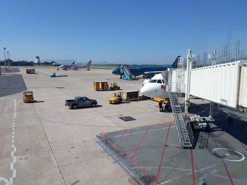 Tạm đóng một đường băng sân bay Đà Nẵng 30 phút vì sự cố - Ảnh 1