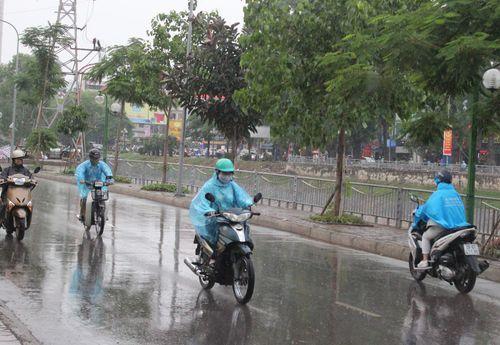 Dự báo thời tiết ngày 7/4: Không khí lạnh tràn về kèm mưa dông tại miền Bắc - Ảnh 1