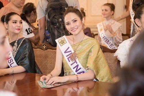 Đại diện Việt Nam tỏa sáng với trang phục Thái Lan tại Miss Tourism Queen - Ảnh 4