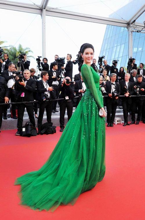 Điểm lại những lần xuất hiện ấn tượng nhất của Lý Nhã Kỳ tại LHP Cannes - Ảnh 4