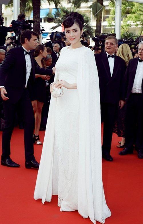 Điểm lại những lần xuất hiện ấn tượng nhất của Lý Nhã Kỳ tại LHP Cannes - Ảnh 1