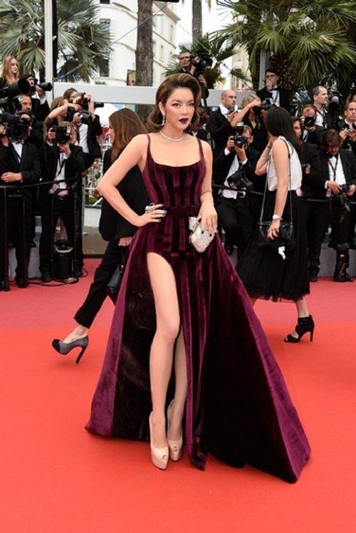 Điểm lại những khoảnh khắc thời trang ấn tượng của Lý Nhã Kỳ tại Cannes 2018 - Ảnh 4