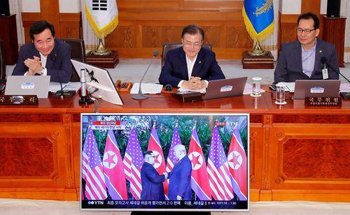 Tổng thống Hàn Quốc: Thượng đỉnh Mỹ - Triều là sự kiện lịch sử - Ảnh 1