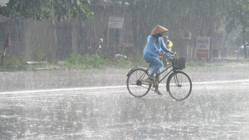 Dự báo thời tiết ngày 14/6/2018: Cảnh báo mưa dông khu vực Bắc Bộ - Ảnh 1