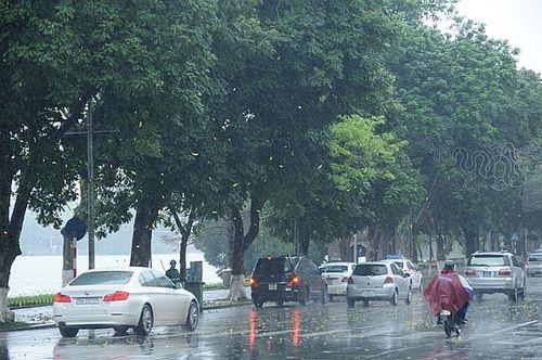 Dự báo thời tiết ngày 18/6: Xuất hiện áp thấp, cảnh báo mưa lớn trên diện rộng - Ảnh 1