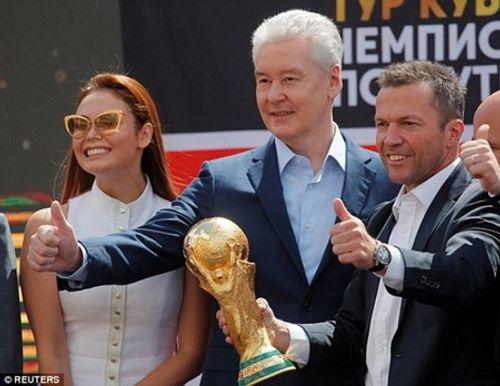 World Cup 2018: Cúp vàng thế giới đã