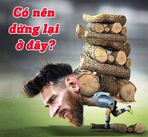 Ngập tràn ảnh chế Ronaldo - Messi cùng bị loại khỏi World Cup 2018 - Ảnh 8