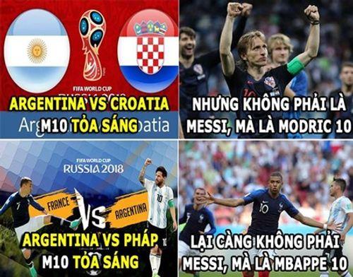 Ngập tràn ảnh chế Ronaldo - Messi cùng bị loại khỏi World Cup 2018 - Ảnh 7
