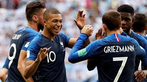 Kết quả vòng 1/8 World Cup 2018: Mbappe tỏa sáng, Messi không thể cứu Argentina - Ảnh 1