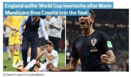 Truyền thông Anh nói gì về thất bại của đội nhà trước Croatia tại bán kết World Cup 2018? - Ảnh 3